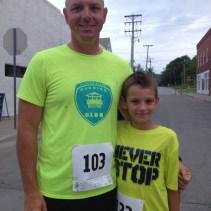 Dustin Danner and son Mason
