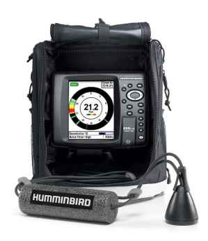 Humminbird's ICE 688ci HD Combo blends the best in ice fishing sonar with premium mapping capabilities.