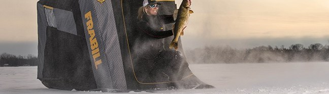 Ice Anglers Find Shelter Under the Aegis of Frabill