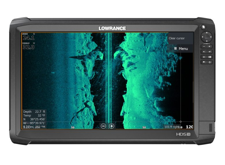 Lowrance Adds FishReveal, Hi-Viz Color with Free Software Update