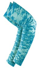 BUFF UV Arm Sleeve in Pelagic Camo Tropical