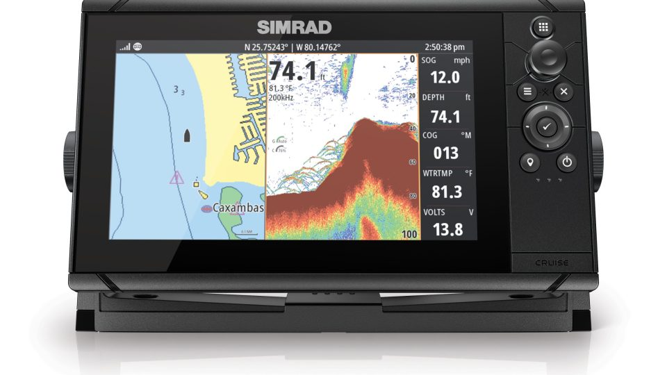 Simrad Offers Cash Back on Cruise Chartplotters