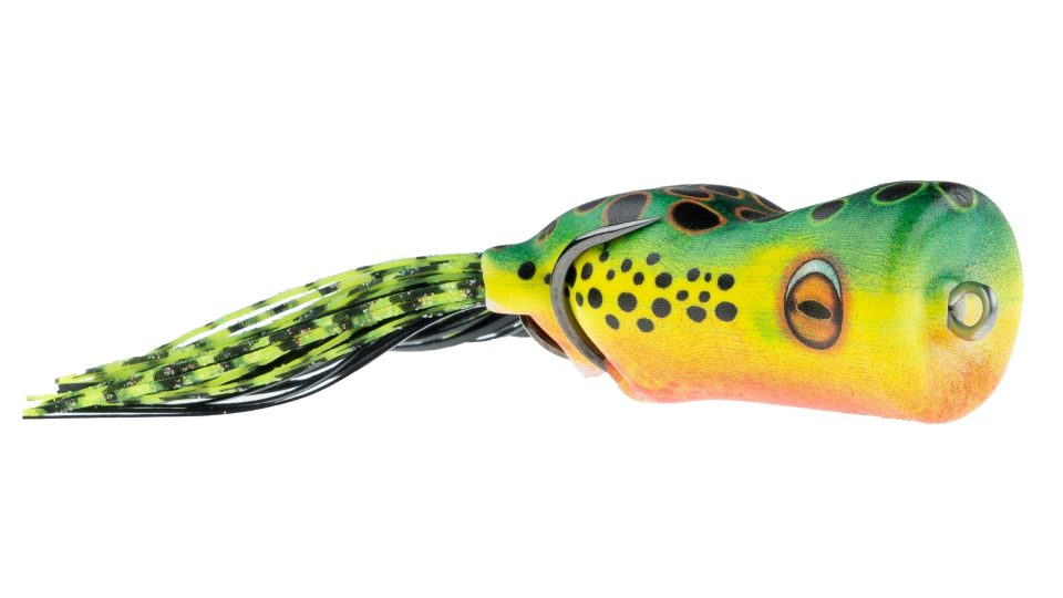 American Baitworks' Scum Frog Painted Trophy Series is Poppin!