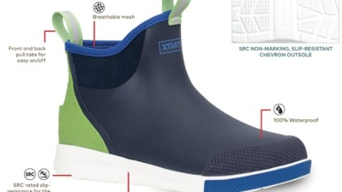 """XTRATUF Ankle Deck Boot Sport Voted 'Best in Footwear"""" at ICAST 2021"""
