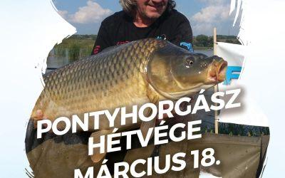 PONTYHORGÁSZ HÉTVÉGE A FISHINGWORLD HORGÁSZÁRUHÁZBAN 2017. MÁRCIUS 18-án.
