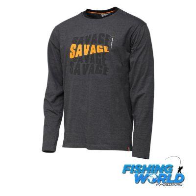 Savage Gear Simply Savage Hosszú Ujjú Póló