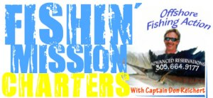 Fishin' Mission Charters With Captain Don Reichert - Offshore Fishing Action In The Fabuluos Florida Keys