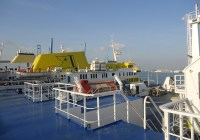 The ferry to Tangier Port