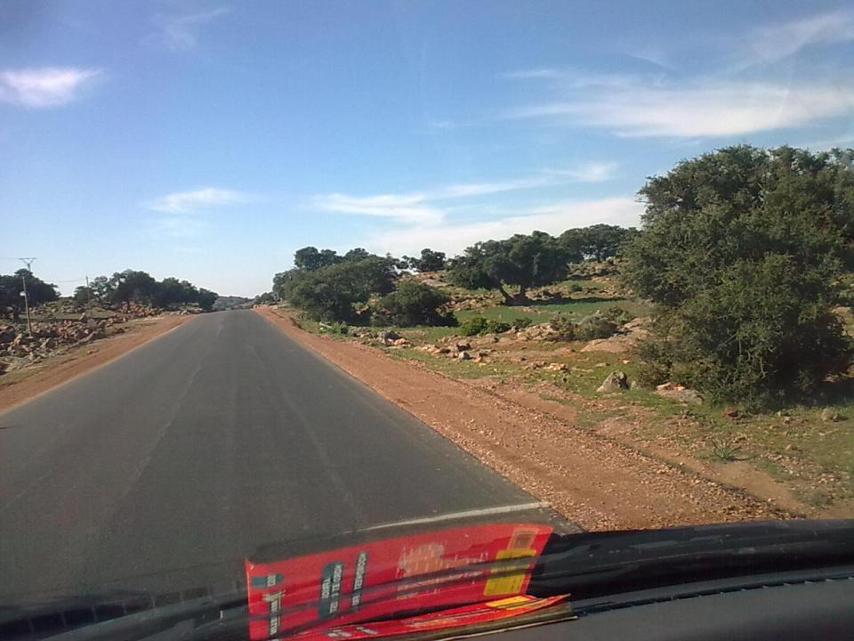 Mauritania road to Senegal