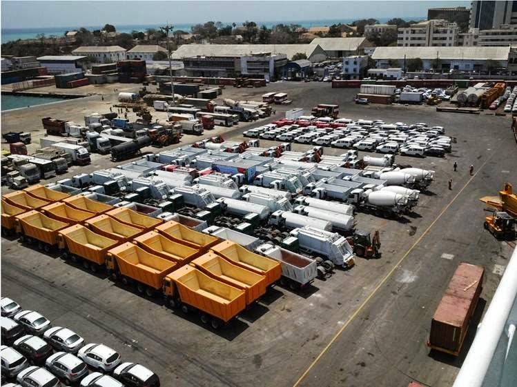 Auto invoeren in Senegal