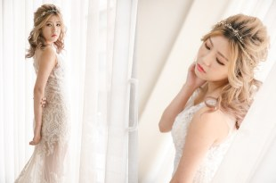 裸紗造型推薦 諾許禮服  Kumiko