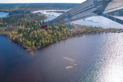 First sighting of the Attawapiskat River.