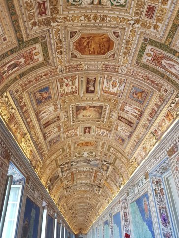 artwork at the vatican