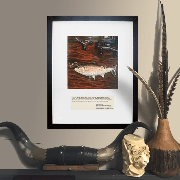 Steve Kennedy Swimbait wall art