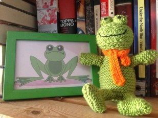 Homemade frogs