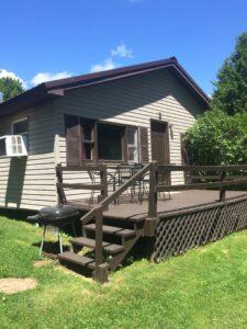 Lakeside cabin on Oneida Lake