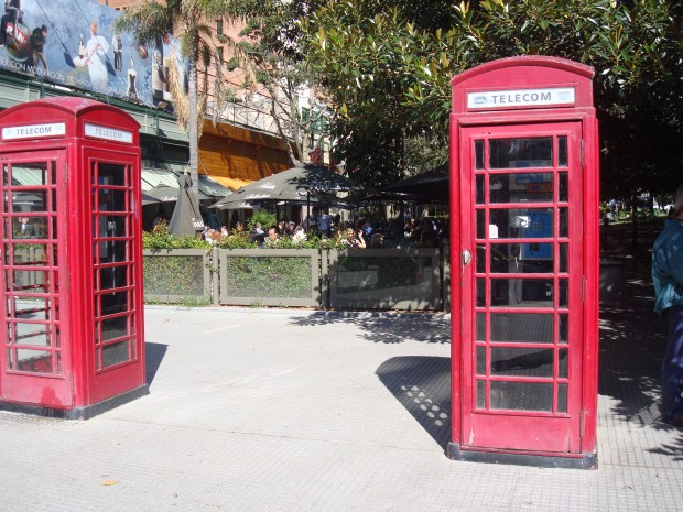 Phone Booths in Recoleta, Buenos Aires
