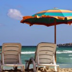Honeymoon in Malta – A Day at the Beach in Mellieha