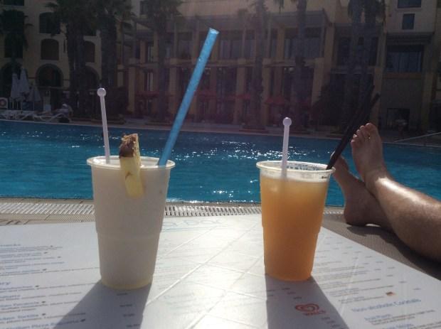 Hilton Malta - Poolside cocktails