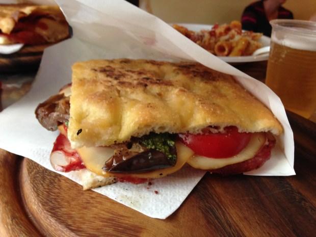 Panini at Salumeria Verdi aka Pino's Sandwiches