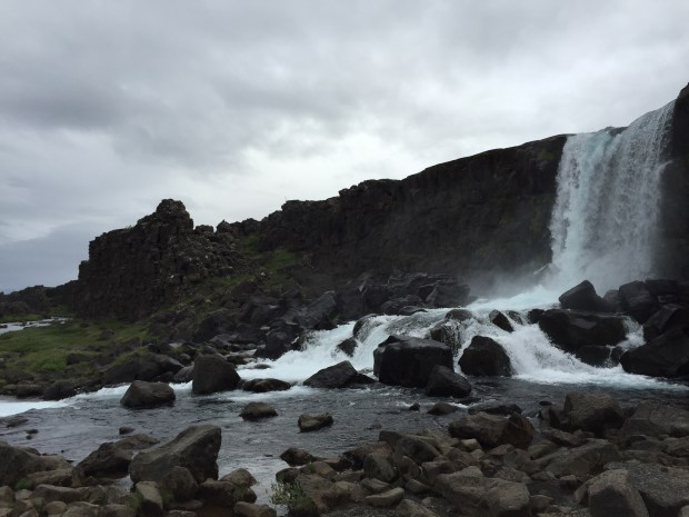 Öxarárfoss waterfall, Golden Circle, Iceland