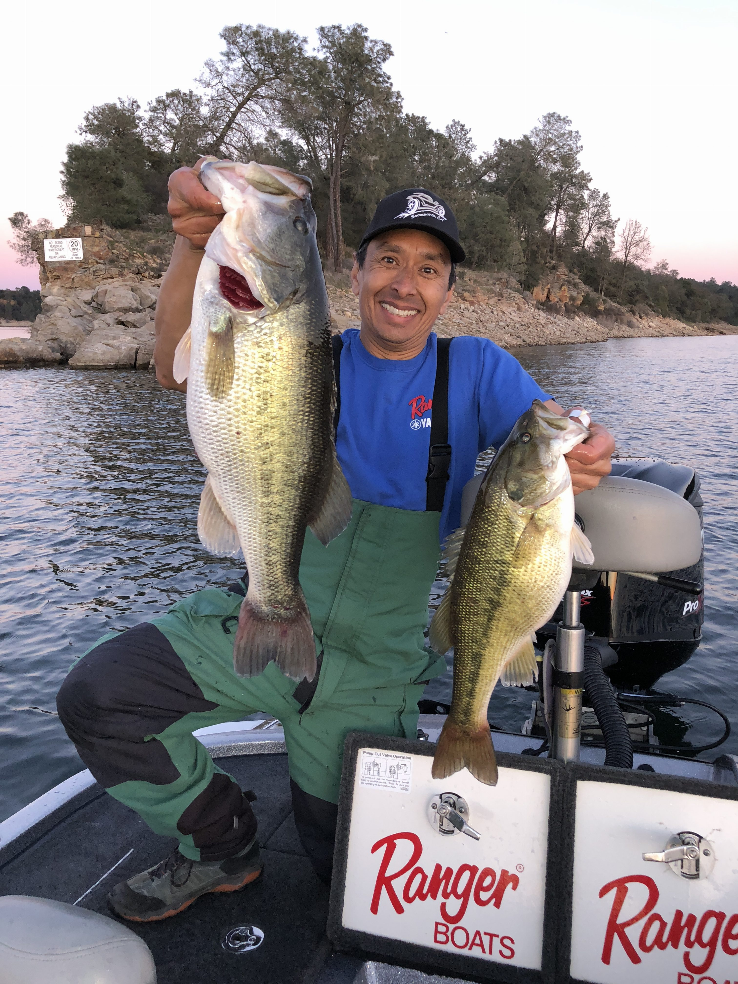 Lake Camanche Bass Fishing Great for Numbers & Size