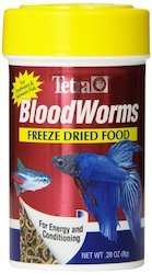 tetra blood worms freeze dried
