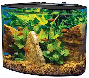 tetra crescent acrylic aquarium kit m