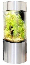 vepotek full acrylic 360 cylinder aquarium tank
