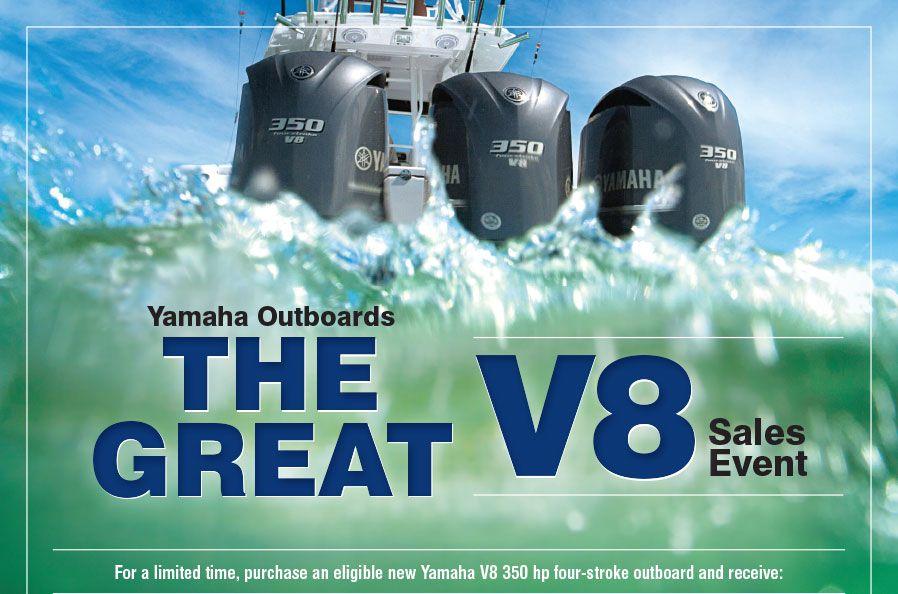 Yamaha Great V8 Sales Event