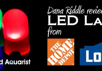 Advanced Aquarist LED Lamp Test