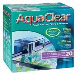 fish tank filter - Aquaclear 20 power filter