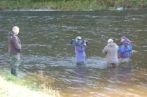 Sky Sports Tight Lines Filming Boleside Beat FishTweed