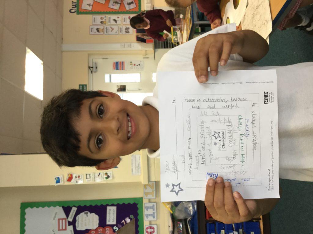 A Positive Puzzle Fishwick Primary School