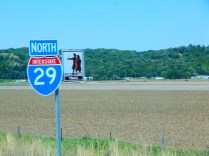 I was on the Lewis & Clark trail. I had no idea they had these freeways way back then! History can be very confusing.