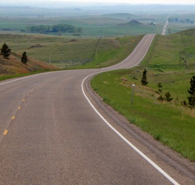 US212: Gorgeous green and very, very remote.