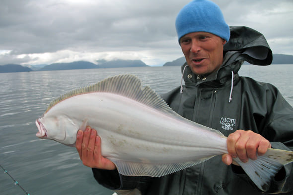 Halibut happy in Icy Strait!