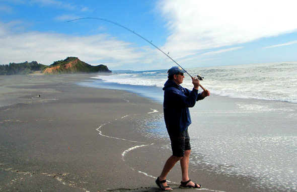 Go light for surf perch...it's way more fun that way!