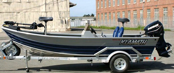 Klamath Swimbait Boat