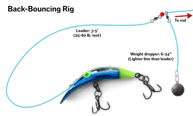 Plug Fishing for River Salmon features close-up gear shots so you can see exactly what to use and how to rig it!