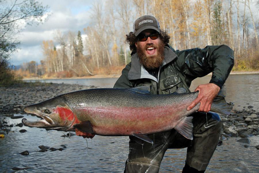 37-pound steelhead
