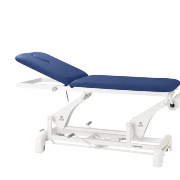 camilla de fisioterapia hidráulica