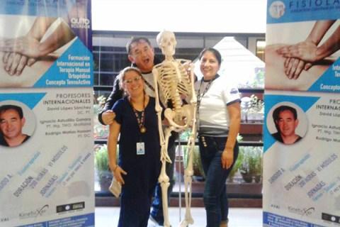 Guisela Cocanguilla, Fisioterapia Preparación Internacional
