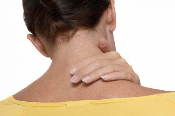 auto masaje de cuello