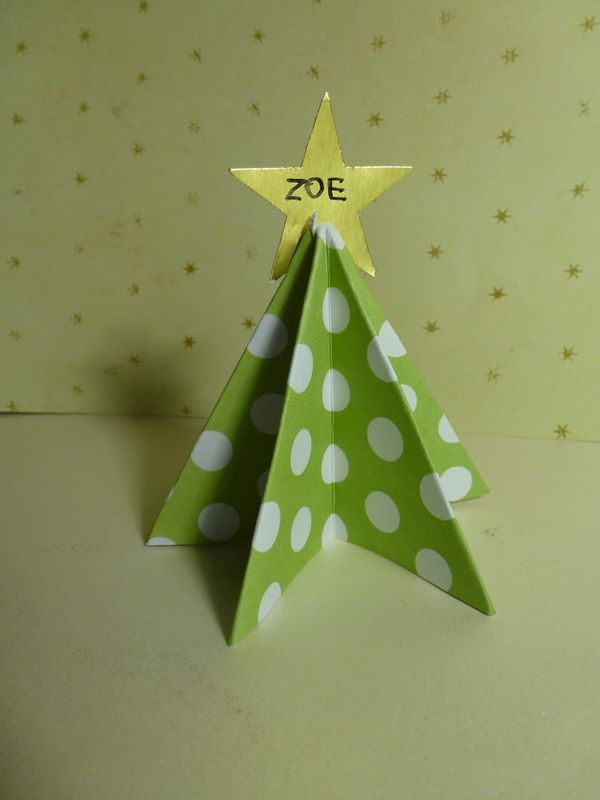 Christmas Tree Place Cards Fiskars Craft