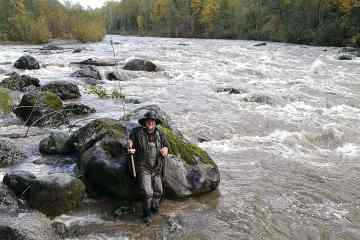 Fiskerejse - Chilliwack - Jesper ved Tamihie