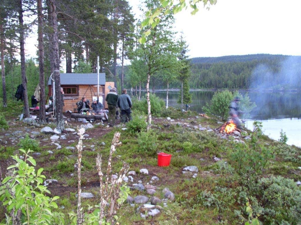 Vildmarks camp ved Masvik