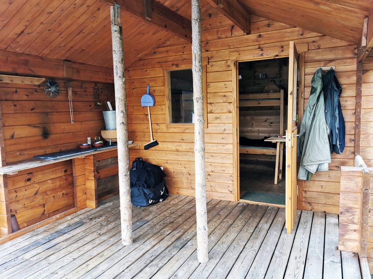 Vildmarks camps i Lapland fiskerejse huset i Masvik i lapland (2)