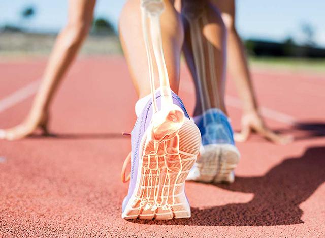 Para tus huesos, mejor correr que nadar o montar en bici - Fissac