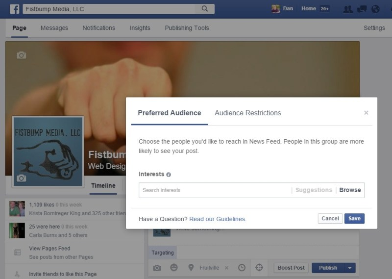 facebook audience optimization